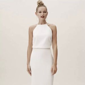 BHLDN two-piece wedding dress